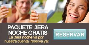 Paquete 3era noche gratis - Hotel Mazatlán