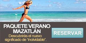 paquete verano mazatlan - hotel en mazatlan