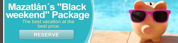 Black Weekend package - Olas Altas Inn Hotel & Spa Mazatlan