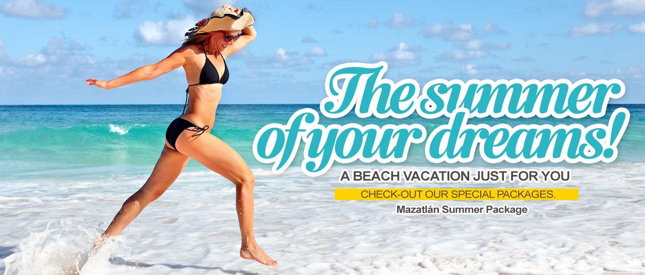 Summer package - Olas Altas In Hotel & Spa Mazatlan