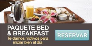 Paquete bed & breakfast - hotel Mazatlán