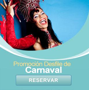 Paquete desfile de carnaval - restaurante en Mazatlán