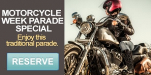 Motorcycle week parade package - Mazatlan restaurant