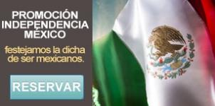 Paquete independencia de México - restaurante en Mazatlán
