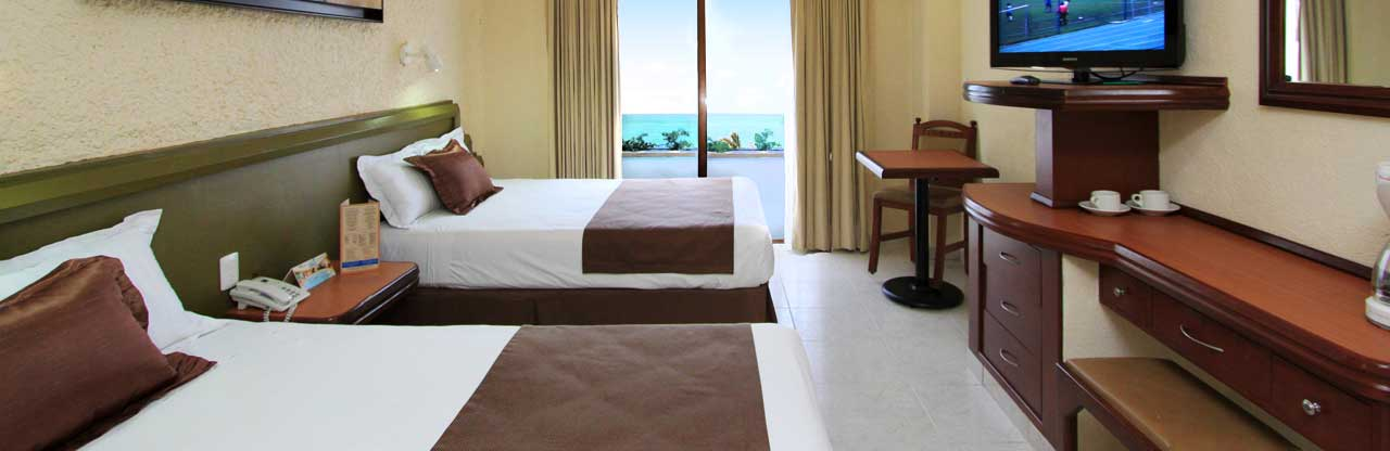 Habitación Estándar - Olas Altas inn Hotel & Spa Mazatlan México