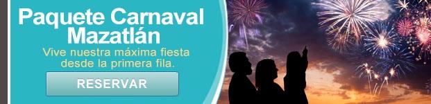 Paquete Carnaval Mazatlán - Hotel Mazatlán