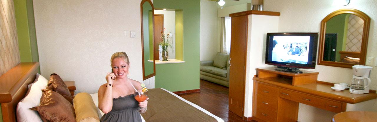 Junior Suite - Olas Altas inn Hotel & Spa Mazatlan México