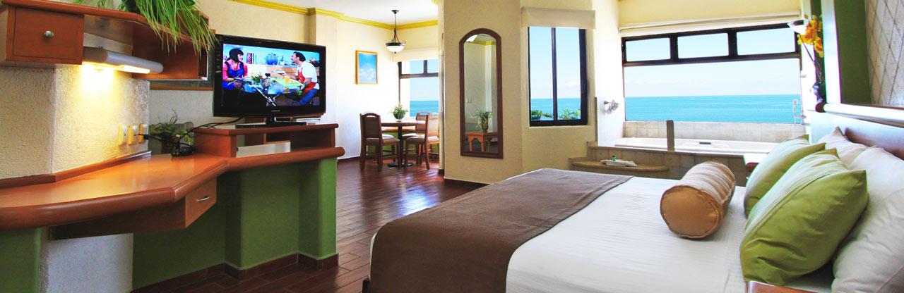 Master Suite - Olas Altas inn Hotel & Spa Mazatlan México